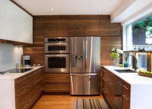 طرح کابینت آشپزخانه mdf
