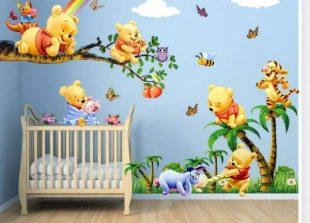 کاغذ دیواری عروسکی